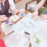 夏休み自由研究【大人気!】押し花ワークショップ【押し花キットで簡単!】東京、文京区のドッグトレーニング 犬のしつけハグ主催で開催。