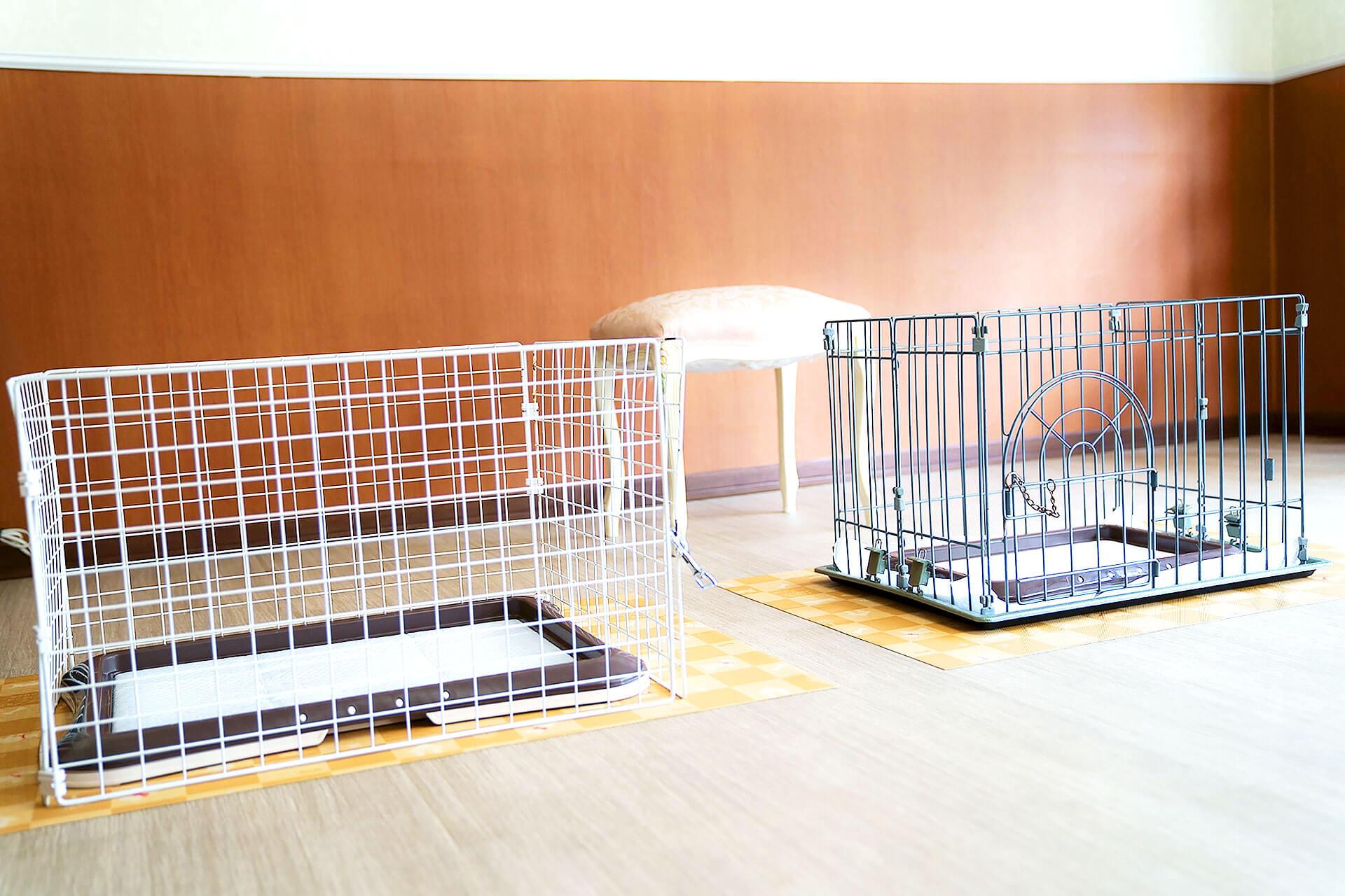 吠え、噛む癖、トイレトレーニングは世田谷と文京区にある犬のしつけハグの店舗内、トイレサークル