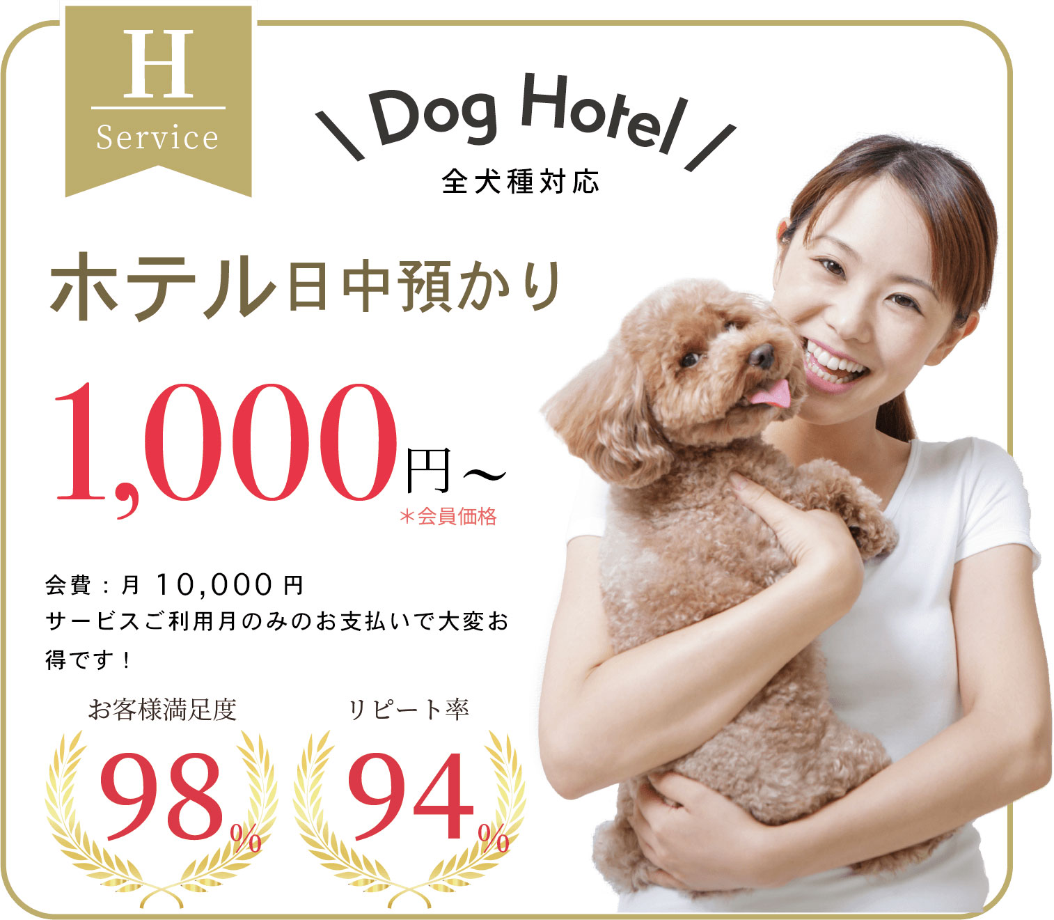吠え、噛む癖、トイレトレーニングは世田谷と文京区にある犬のしつけハグのドッグホテル1000円