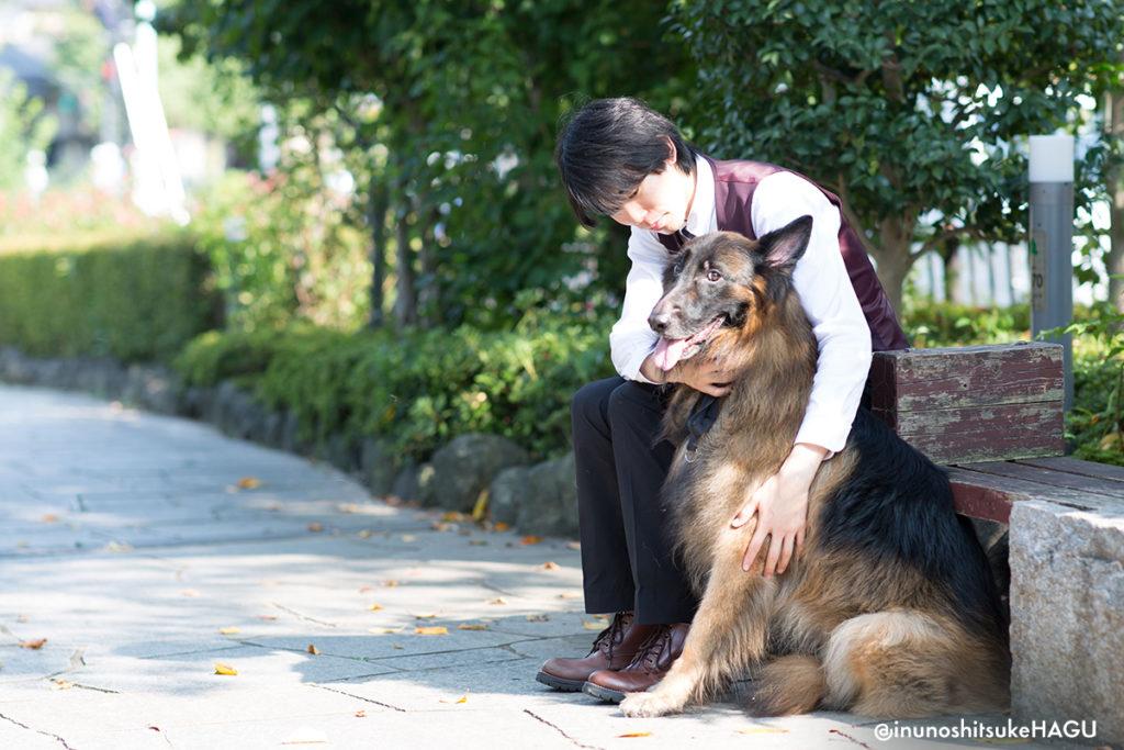 世田谷区と文京区犬のしつけ教室おやつなしのしつけ運営の川島恵と愛犬