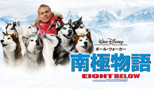 8頭のシベリアンハスキーと人との絆『南極物語』【犬映画】あらすじ